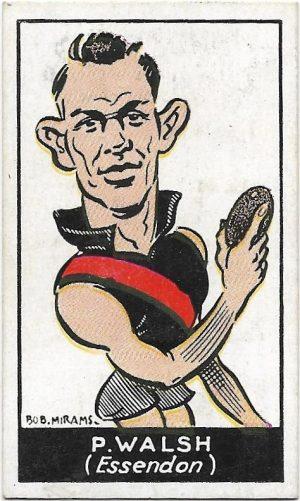1933 Carreras (38) Paddy Walsh Essendon