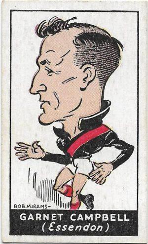1933 Carreras (41) Garnet Campbell Essendon