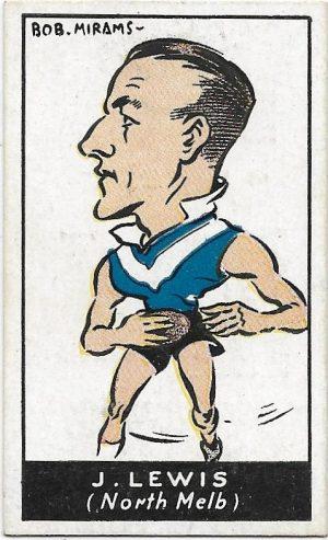 1933 Carreras (47) John Lewis North Melbourne