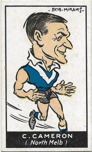 1933 Carreras (48) Charles Cameron North Melbourne