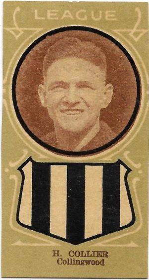 1933 Licorice Larks Collingwood – Harry Collier