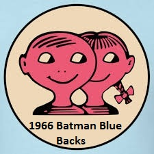 1966 Batman Blue Bat Backs