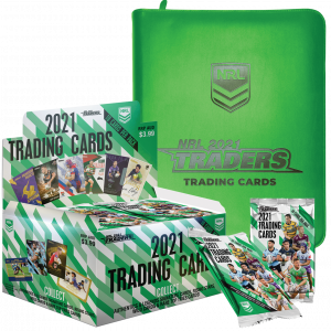2021 NRL Traders Factory Sealed Box & Official Album