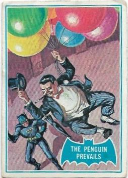 1966 Batman Blue Bat (2B) The Penguin Prevails (Blue Bat Back)
