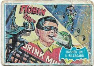 1966 Batman Blue Bat (9B) Bashed On A Billboard (Blue Bat Back)