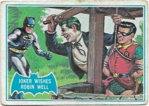 1966 Batman Blue Bat (15B) The Joker Wishes Robin Well (Blue Bat Back)