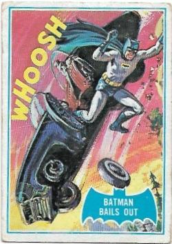 1966 Batman Blue Bat (40B) Batman Bails Out (Blue Bat Back)