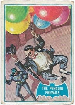 1966 Batman Blue Bat (2B) The Penguin Prevails