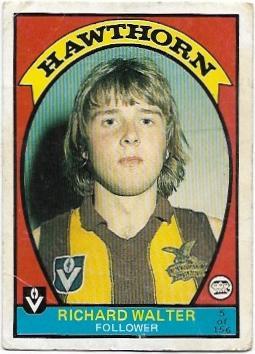 1978 VFL Scanlens (5) Richard Walter Hawthorn