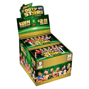 2021 Select Footy Stars Factory Sealed Box