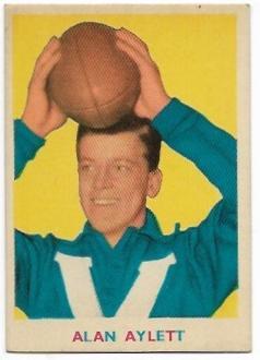 1963 VFL Scanlens (3) Allen Aylett North Melbourne