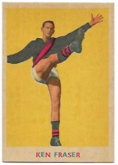 1963 VFL Scanlens (4) Ken Fraser Essendon