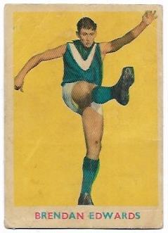 1963 VFL Scanlens (8) Brendan Edwards Hawthorn