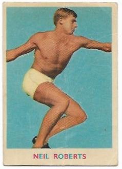 1963 VFL Scanlens (10) Neil Roberts St Kilda