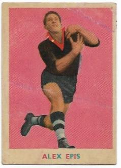 1963 VFL Scanlens (11) Alex EPIS Essendon