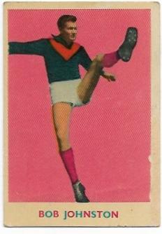 1963 VFL Scanlens (18) Bob Johnston Melbourne