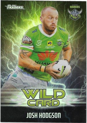 2021 Nrl Traders Wildcards (WC04) Josh HODGSON Raiders