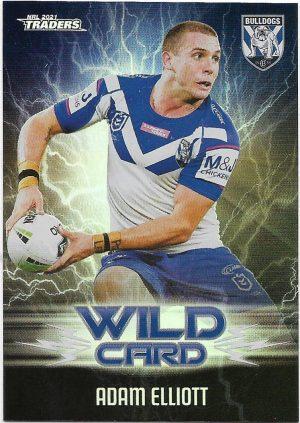 2021 Nrl Traders Wildcards (WC07) Adam ELLIOTT Bulldogs