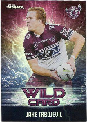 2021 Nrl Traders Wildcards (WC17) Jake TRBOJEVIC Sea Eagles