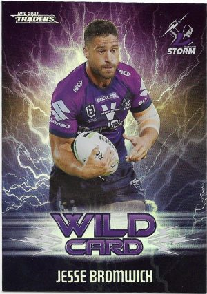 2021 Nrl Traders Wildcards (WC19) Jesse BROMWICH Storm