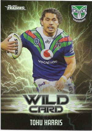 2021 Nrl Traders Wildcards (WC45) Roger TUIVASA-SHECK Warriors