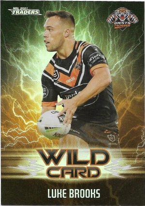 2021 Nrl Traders Wildcards (WC46) Luke BROOKS Wests Tigers
