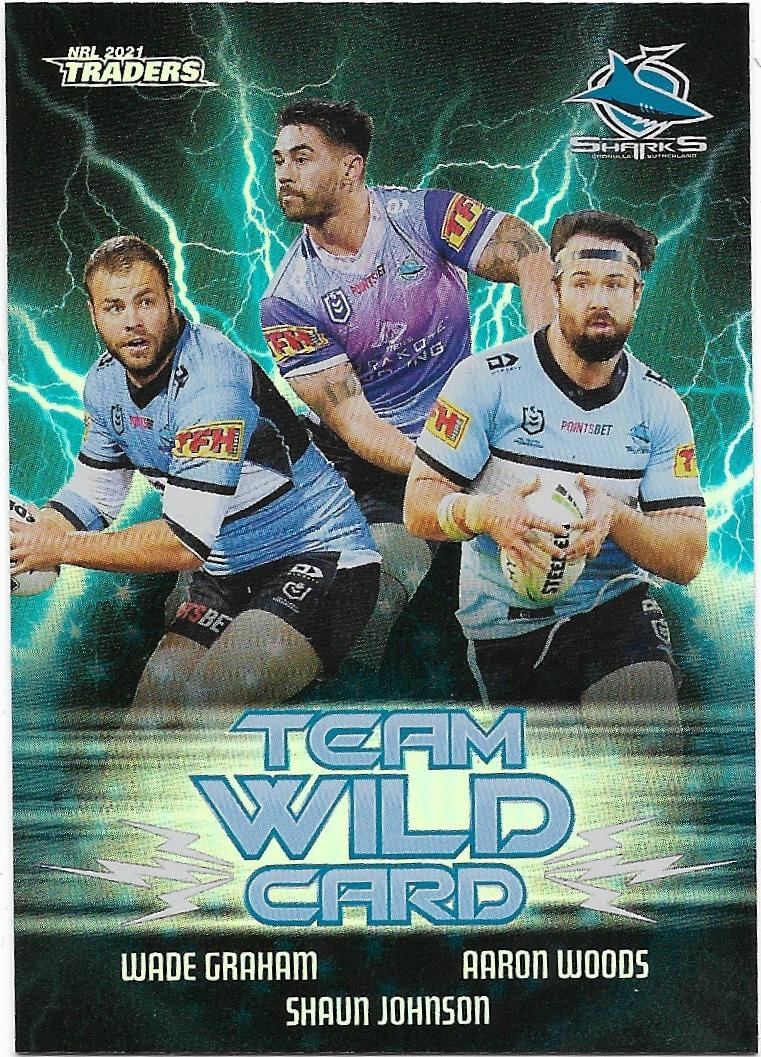 2017 NRL Traders Pieces of the Puzzle Valentine HOLMES Sharks PP 48//54