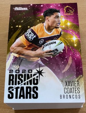 2021 Nrl Traders Rising Stars Full Set (48 Cards)