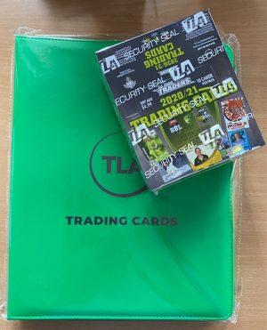 2020 / 21 TLA Cricket Australia FACTORY SEALED Box & TLA Album With 30 X Plastic Pockets