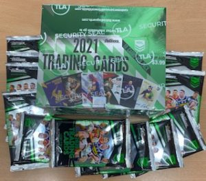 2021 NRL Traders Factory Sealed Box & 10 X 2020 Traders Packs (Newsagent Stock)