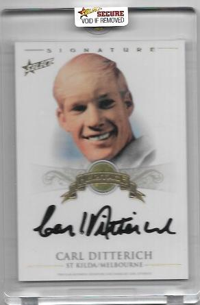 2011 Select Heritage (HS12) Carl DITTERICH St. Kilda 073/100