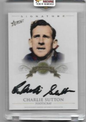 2011 Select Heritage (HS5) Charlie SUTTON Footscray 067/100