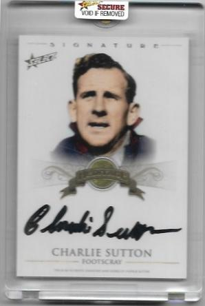 2011 Select Heritage (HS5) Charlie SUTTON Footscray 098/100