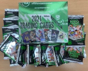 2021 NRL Traders Factory Sealed Box & 20 X 2020 Traders Packs (Newsagent Stock)