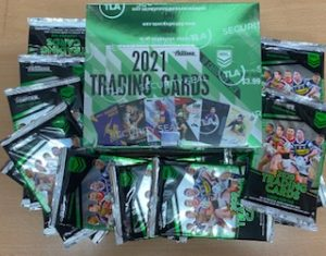 2021 NRL Traders Factory Sealed Box & 30 X 2020 Traders Packs (Newsagent Stock)