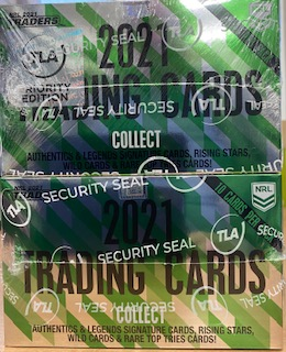 2021 NRL Traders Factory Sealed Box & 1 X PRIORITY Box