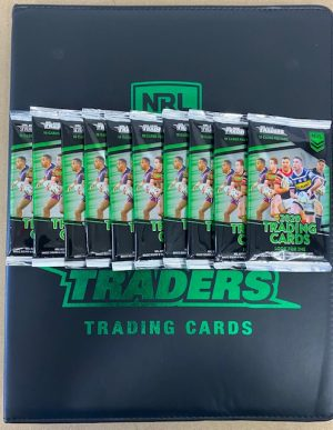 2020 Traders Official Album, 10 Packs And Album Card