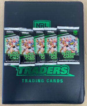 2020 Traders Official Album, 5 Packs And Album Card