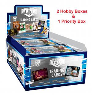 2021 NRL Elite 2 X Hobby Boxes & 1 Priority Box